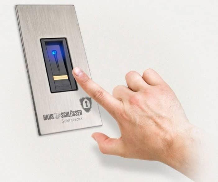 Ekey Active Zutrittskontroll-System mit Fingerabdruck Scanner