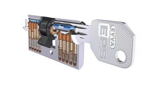 Abbildung Schließanlage - Schlüsselsystem EVVA EPS
